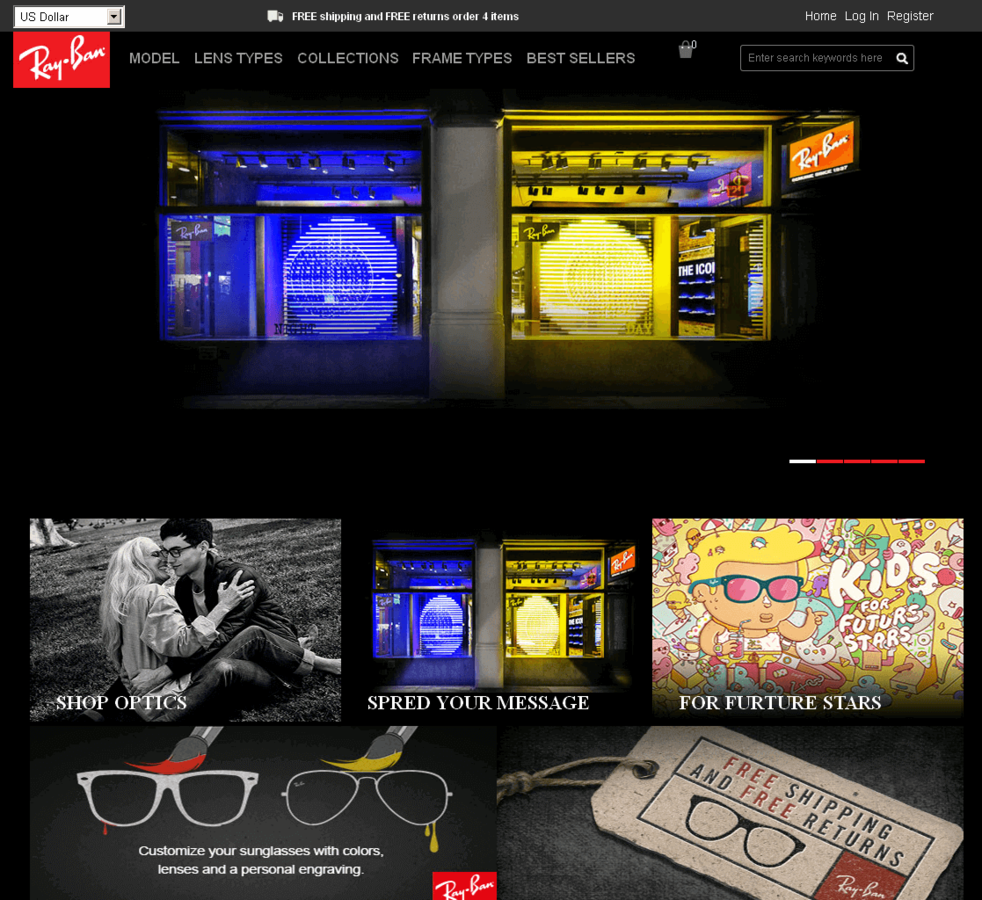 Sunglasses Spam: 85% Discount? That has to be 100% fake! | SECURITY BLOG