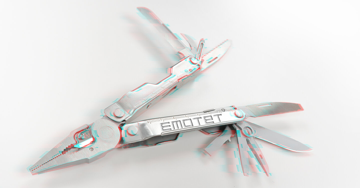 Emotet has become a multitool for cybercriminals. (Image: G DATA)