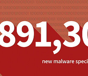 Malware numbers of the first half of 2017