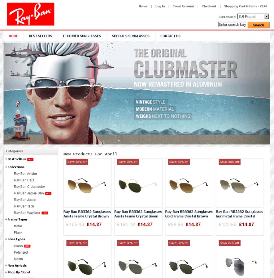 ray ban sunglasses usa online shop