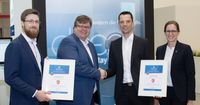 G DATA is awarded as double champion at secIT by Heise