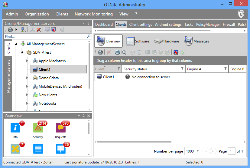 How to install the G DATA Security Client for Windows | G DATA