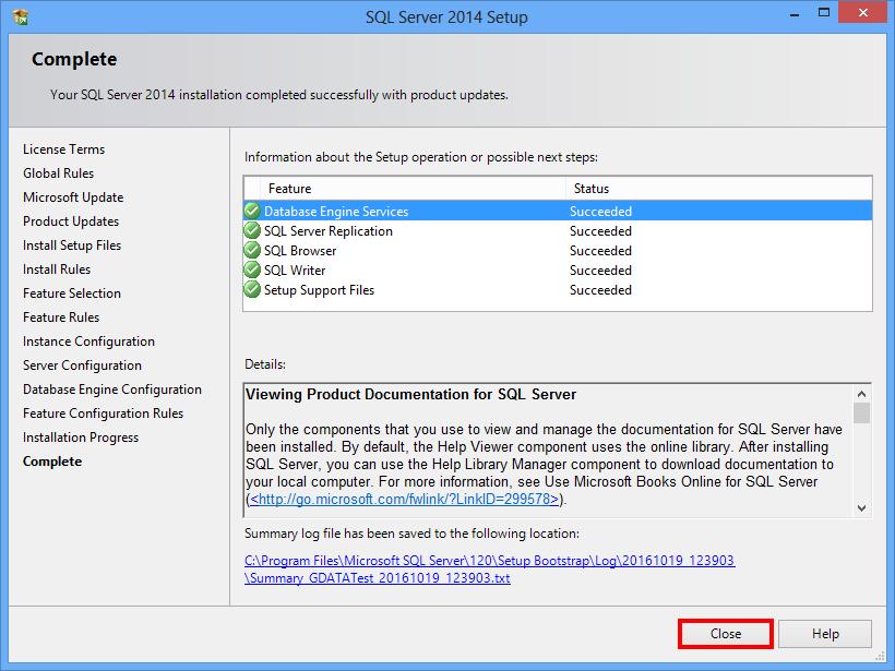 How to install and configure Microsoft SQL Server 2014