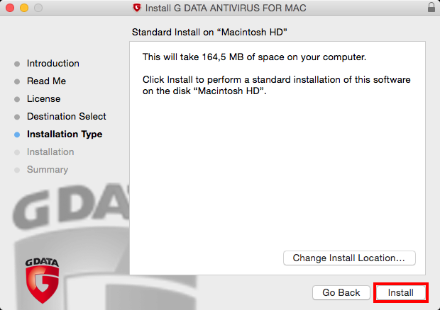 How to install and activate Antivirus for Mac | G DATA
