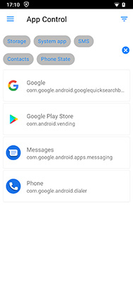 disable screen recording on android